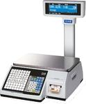 Торговые весы с печатью этикеток CL3000