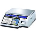 Торговые электронные весы CAS CL5000 - 15 кг (со стойкой и клавиатурой самообслуживания)